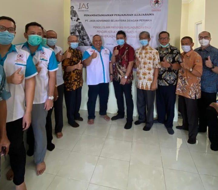 DPP Perinka dan PT Jasa Advisindo Sejahtera Teken MoU Asuransikan Peserta Pelatihan di BLK/LPK