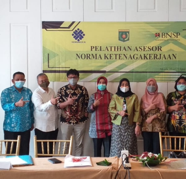 LSP Norma Ketenagakerjaan Indonesia  Melaksanakan  Pelatihan Calon Asesor