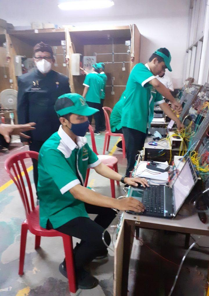 Kolabrasi BLK Kompetensi Bekasi Dengan Dunia Industri Hasilkan Penyerapan Maksimal Peserta Pelatihan